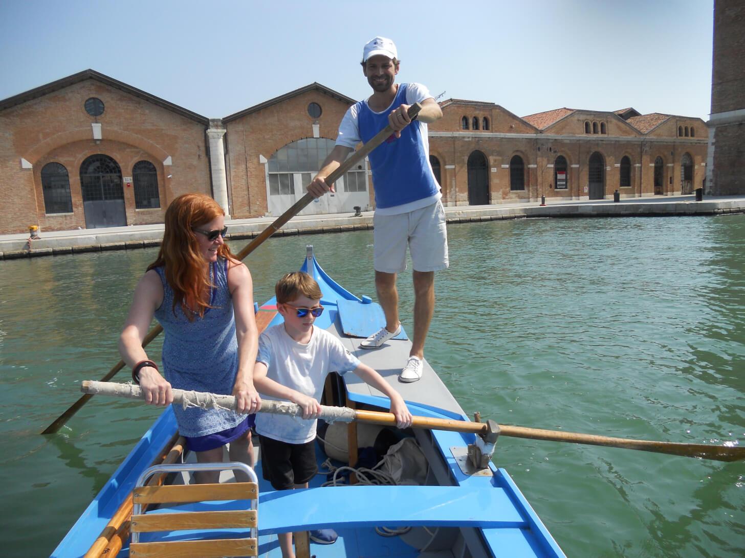 Experience Alternative gondole Venise